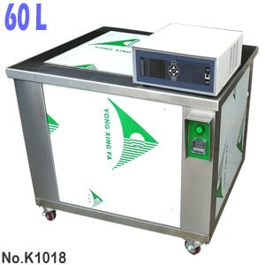 K1018 60L Variable Power Industrial Ultrasonic Water Bath