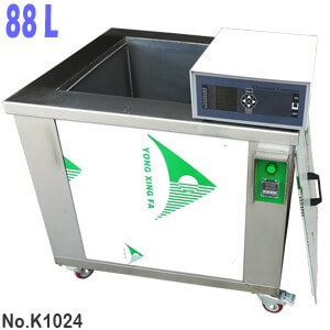 88L Heated Industrial Ultrasonic Parts Washer Tank for Sale