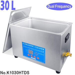 30L Dual Frequency Digital Ultrasonic Cleaner Sonicator Bath