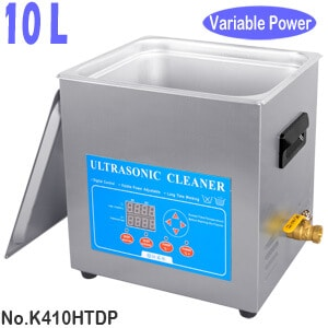 K410HTDP 10L Variable Power Laboratory Ultrasonic Bath for Sale