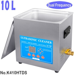 K410HTDS 10L Variable Frequency Laboratory Ultrasonic Cleaner