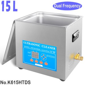 K615HTDS 15L Variable Frequency Ultrasonic Instrument Cleaner