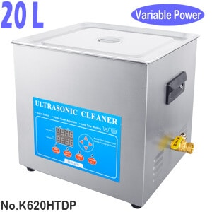 20L Dental Lab Ultrasonic Bath Cleaner Variable Power