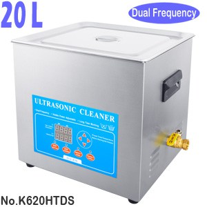 K620HTDS 20L Variable Frequency Ultrasonic Cleaner Machine