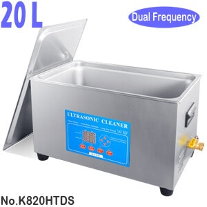 K820HTDS 20L Variable High Frequency Sonic Washing Machine