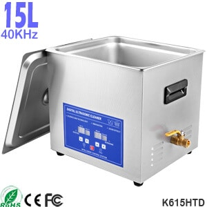 15L Best Ultrasonic Cleaner Bath for Dental Instruments