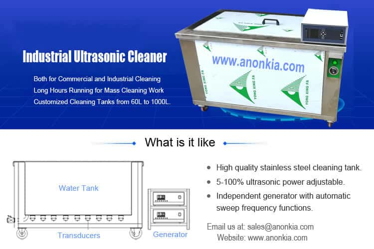 Industrial Ultrasoic Cleaning Tanks
