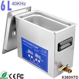 6L Digital Dental Ultrasonic Bath Cleaner for Dentures