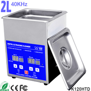 2L Ultrasonic Glasses Cleaner Eyeglass Cleaning Machine