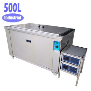 Custom 500L Large Capacity Ultrasonic Cleaner for Parts