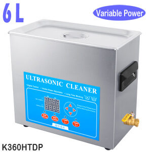 6L Lab Sonicator Bath Ultrasonic Cleaner Variable Power