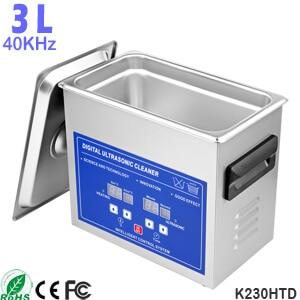 3L Sonic Dental Bath Electric Ultrasonic Denture Cleaner