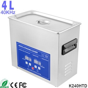 4L Small Heated Ultrasonic Bath Ultra Sonic Cleaner